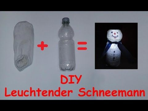 Schneeflocken aus plastikflaschen basteln youtube for Youtube weihnachtsdeko