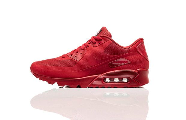 The 10 Best All-Red Sneakers of 2013 - 5. Nike Air Max 90 ...