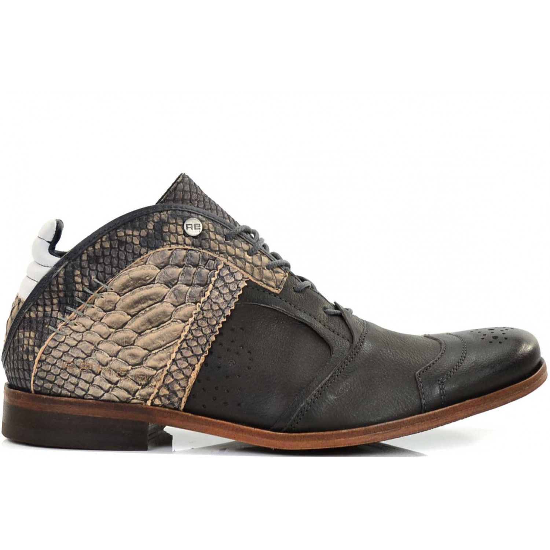 REHAB Footwear Kurt Snake Grijs | Heren schoenen | New Arrivals -  Fashionfootwear.nl