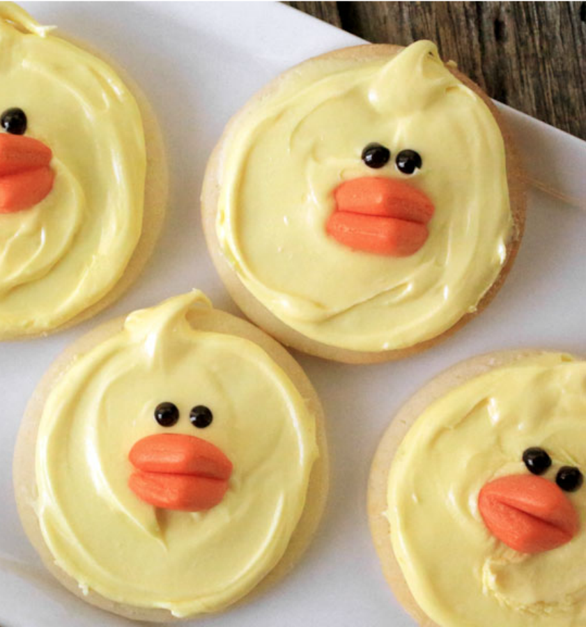 No fuss, no stress Easter chick cookies are an adorable and simple addition to your holiday desserts! - Everyday Dishes & DIY