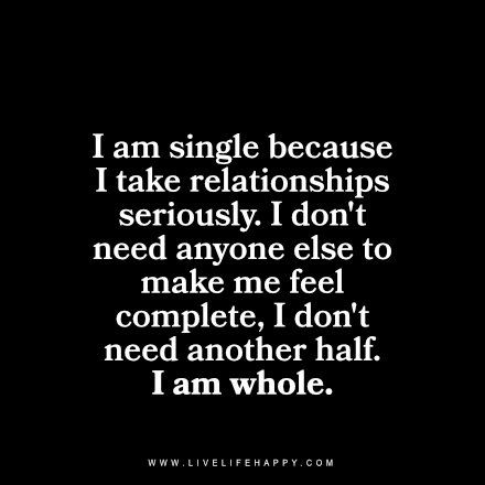 why am i not dating anyone Up from a long-term relationship and am lonely' (why, i ask, would anyone want to go  friends, not someone you are dating  all your own silly fault.