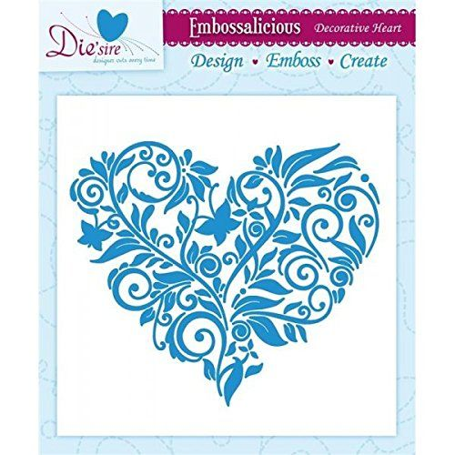 $6.99 & Free Shipping Embossalicious Embossing Folder 6 x 6 Decorative Heart Crafter's Companion http://www.amazon.com/dp/B00KYWN4K2/ref=cm_sw_r_pi_dp_g-QFub1KKQP9G