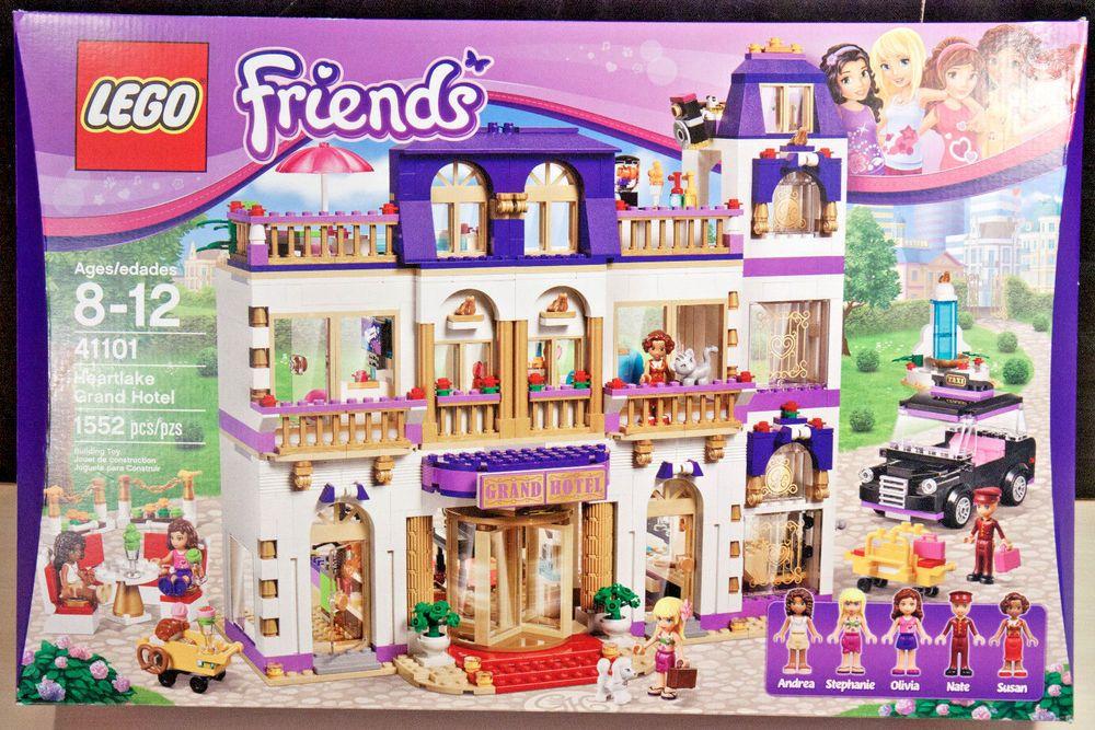 Lego Friends Heartlake Grand Hotel 41101 New Sealed Box Grand Hotel Lego Friends Hotel