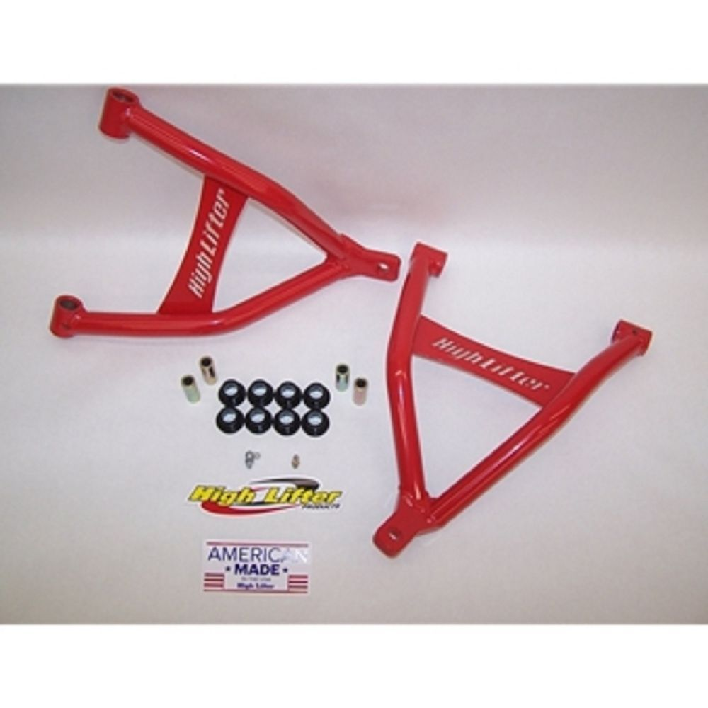 Max Clearance Front Lower Control Arms Honda Rubicon 500 2015-2016 Red  #HIGHLIFTER