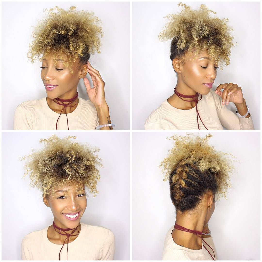 nice 44 Of The Best Natural Hair Updos For You -- Trendy & Beautiful Check more at http://newaylook.com/best-natural-hair-updos-styles/