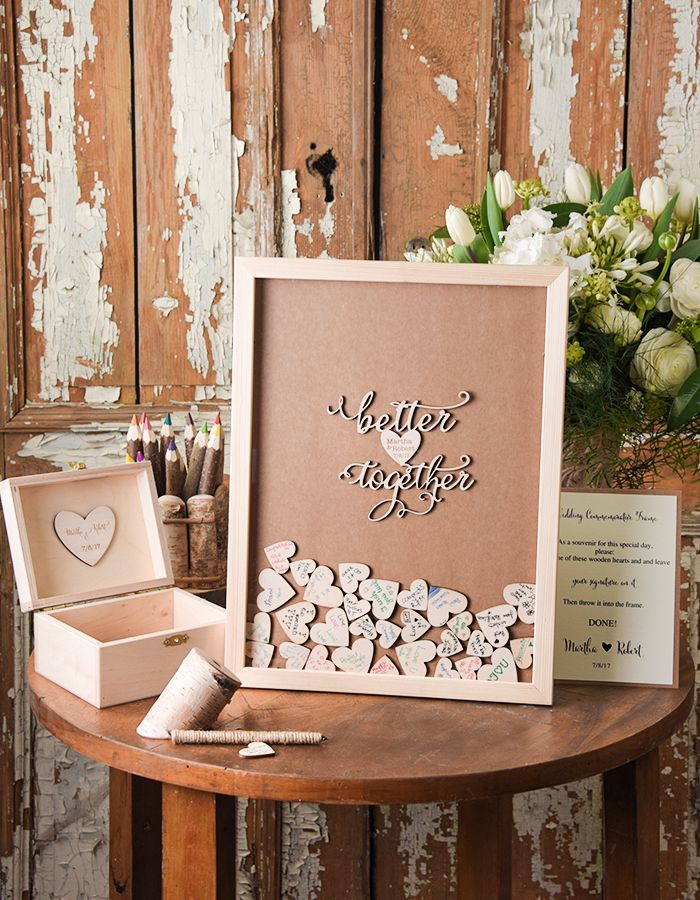 WEDDING GUEST BOOKS Alternative | ❤ 7.1.17 ❤ | Pinterest ...