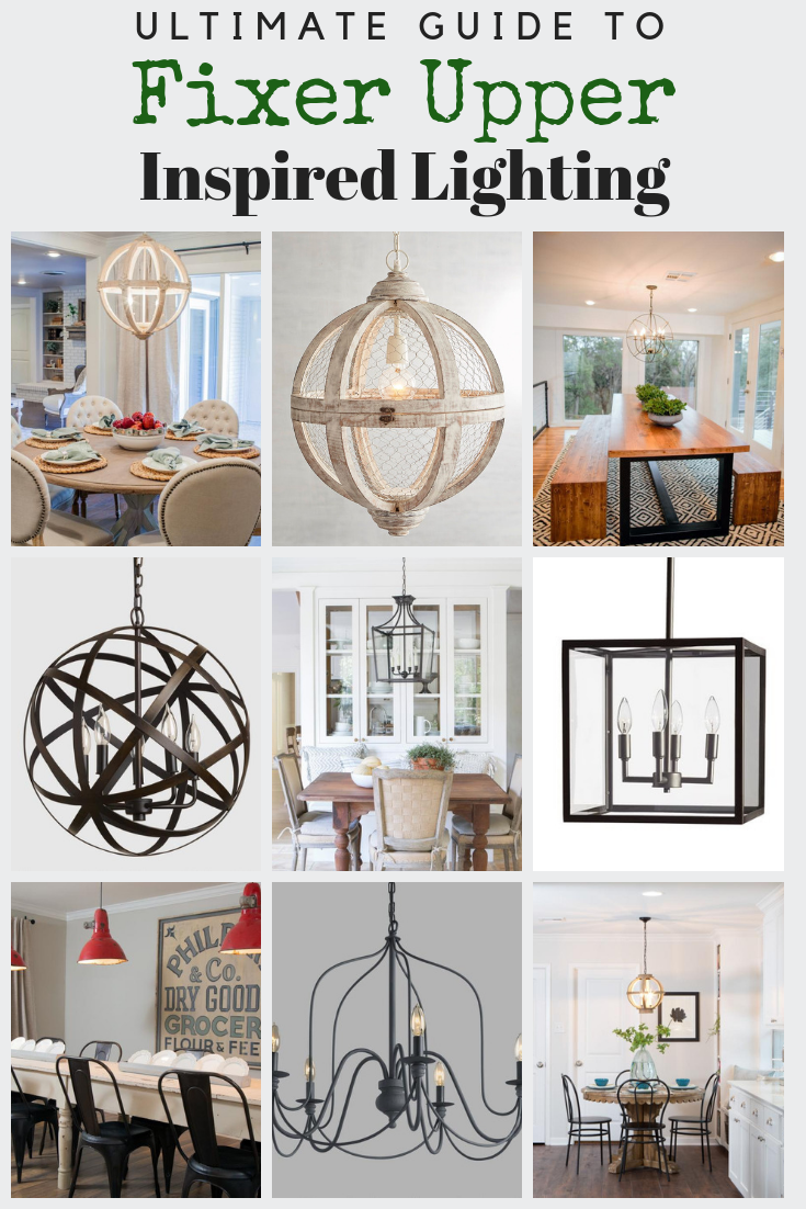 Inspired By Joannas Favorite Chandeliers Used On Fixer Upper