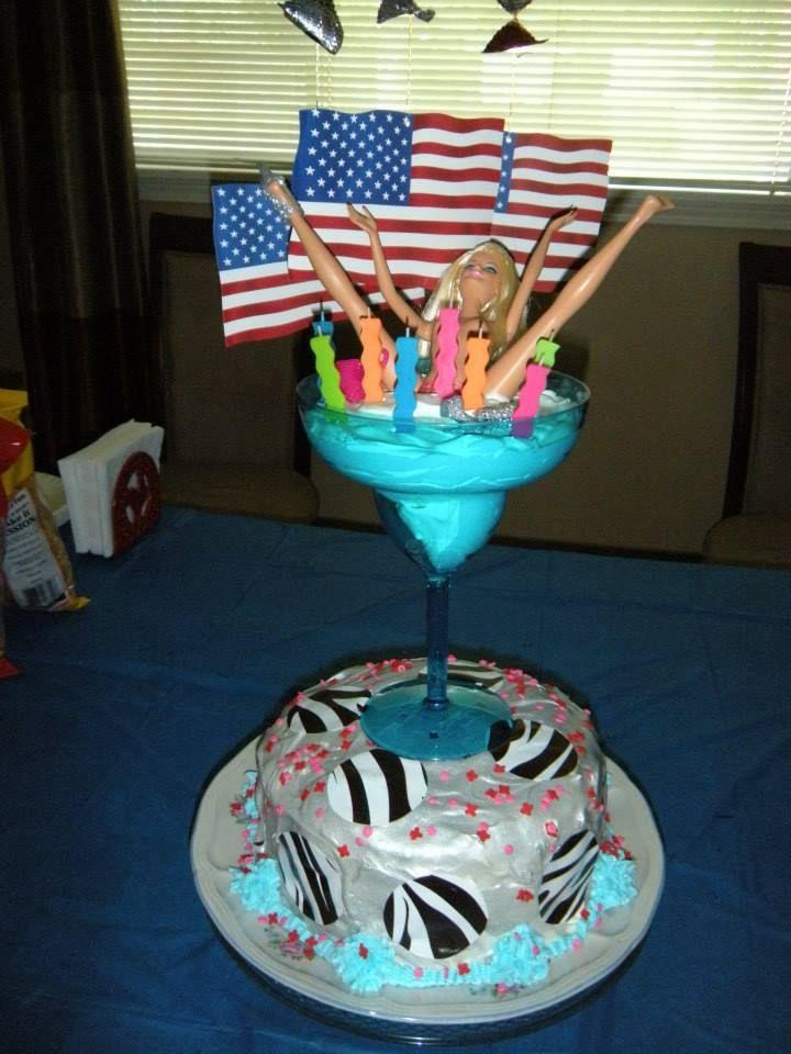 White Trash Birthday Bash cake Dirty Thirty Pinterest