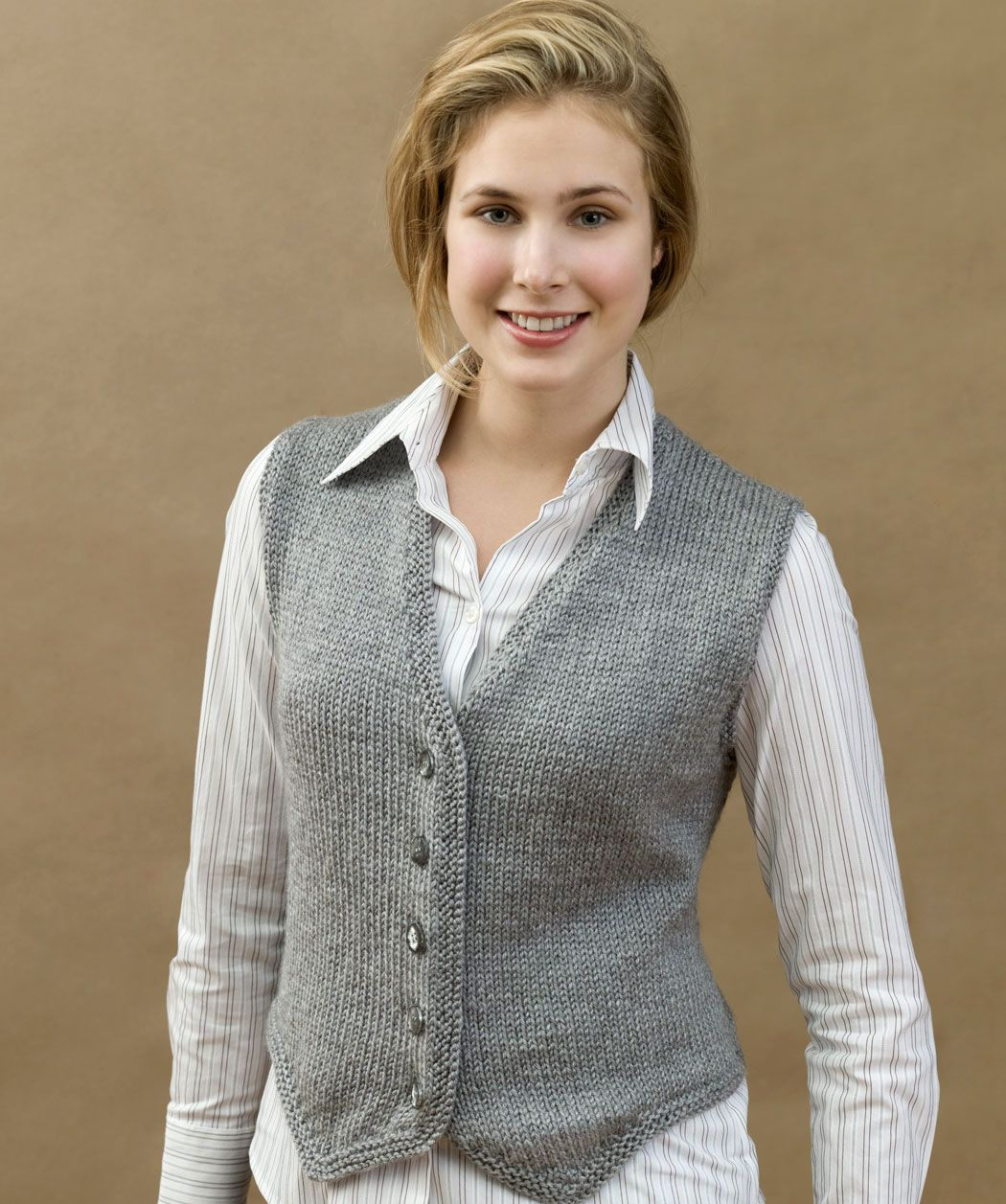 Knit Vested & Stylish for one of my knitting ladies | Knit 1 Purl 1 ...