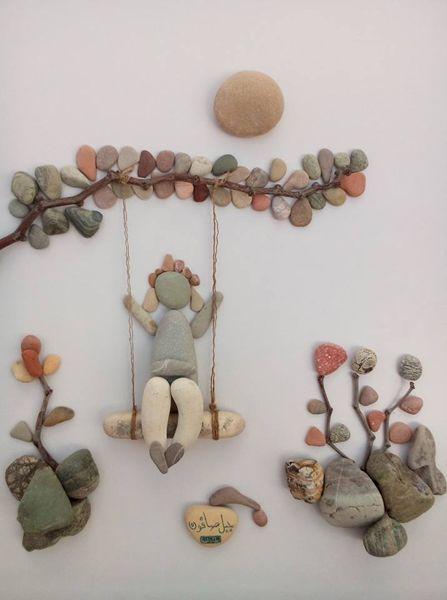 Creative diy ideas for pebble art crafts pebble art diy ideas and creative diy ideas for pebble art crafts solutioingenieria Image collections