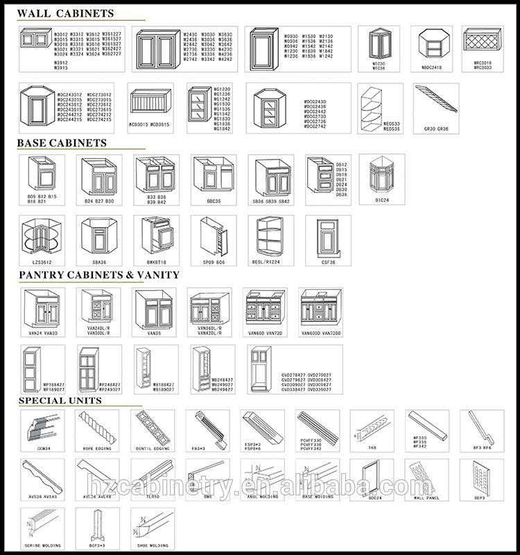 China Professional American Standard White Shaker Kitchen Cabinet Design