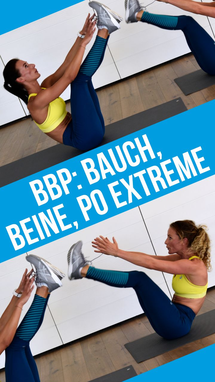 Video-Workout: Bauch, Beine, Po – BBP Extreme