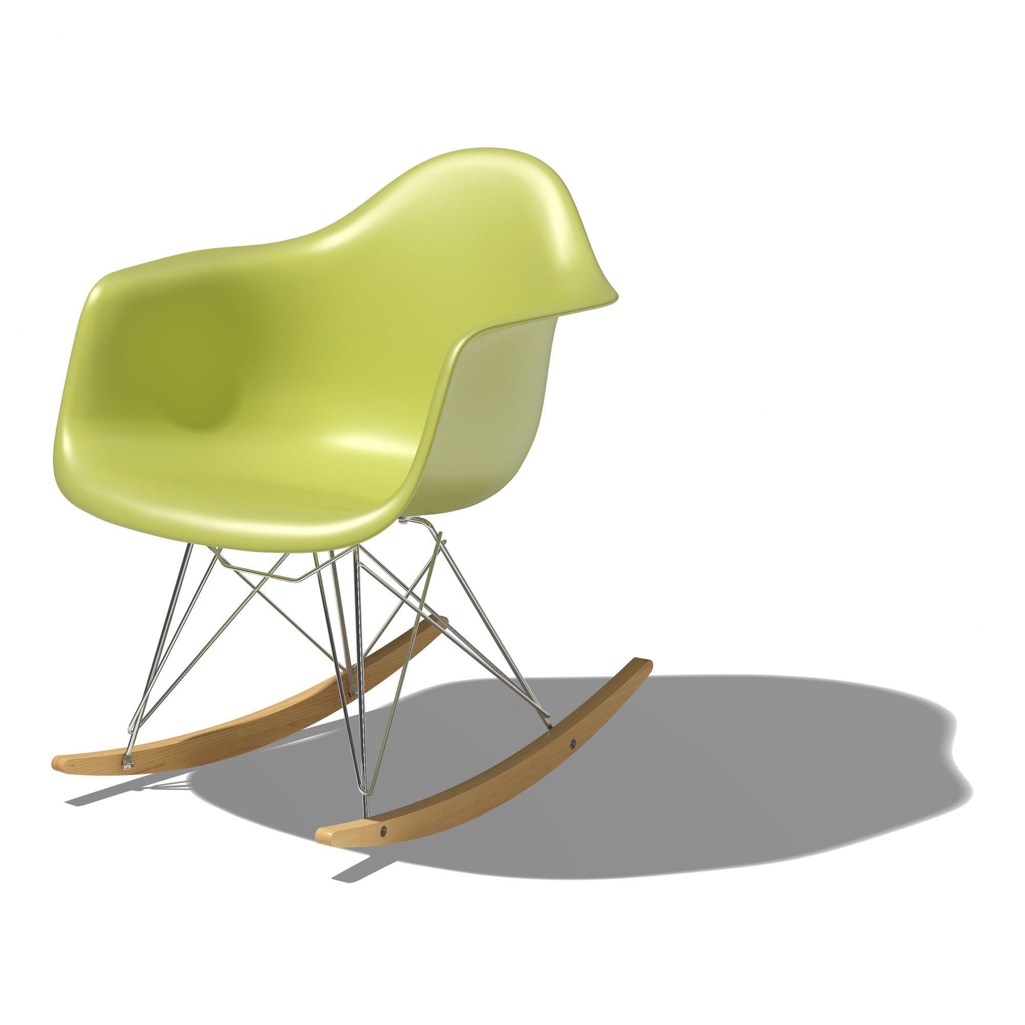 Herman Miller Eames Rar Molded Plastic Armchair With Rocker  # Muebles Dutailier