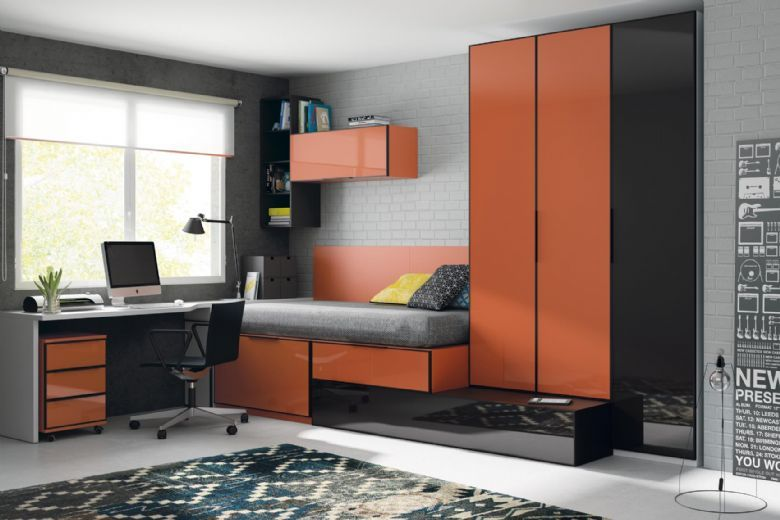 Dormitorio juvenil Nerea | All Interest | Pinterest | Dormitorios ...