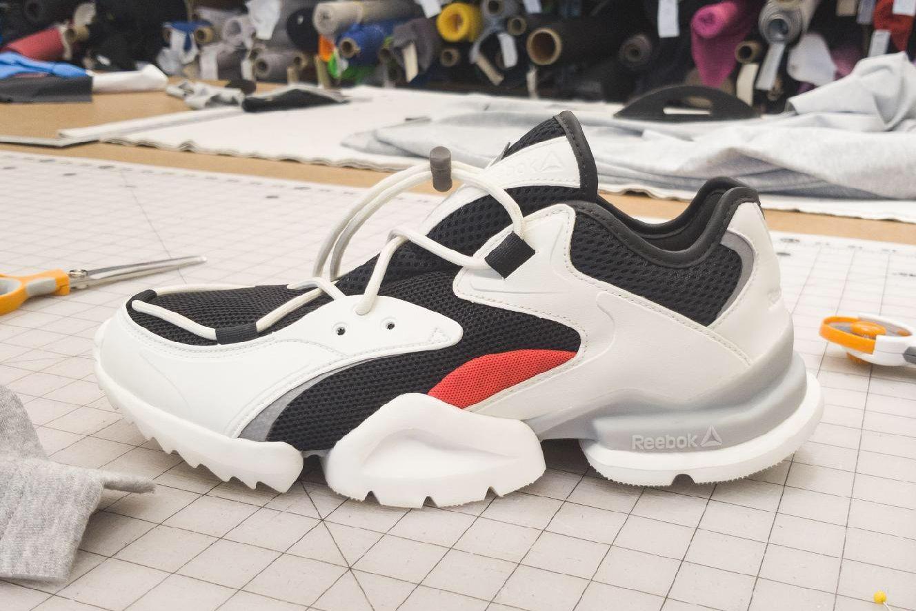 Mysterious Chunky Reebok Sneaker