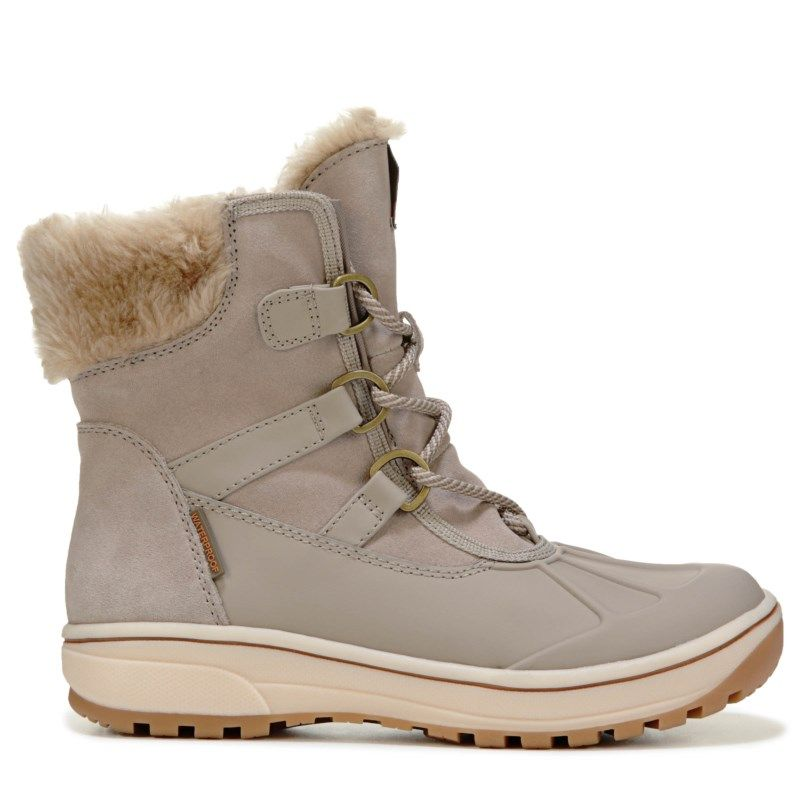 7b8ad426210 Bare Traps Women s Danula Lace Up Winter Boots (Taupe)