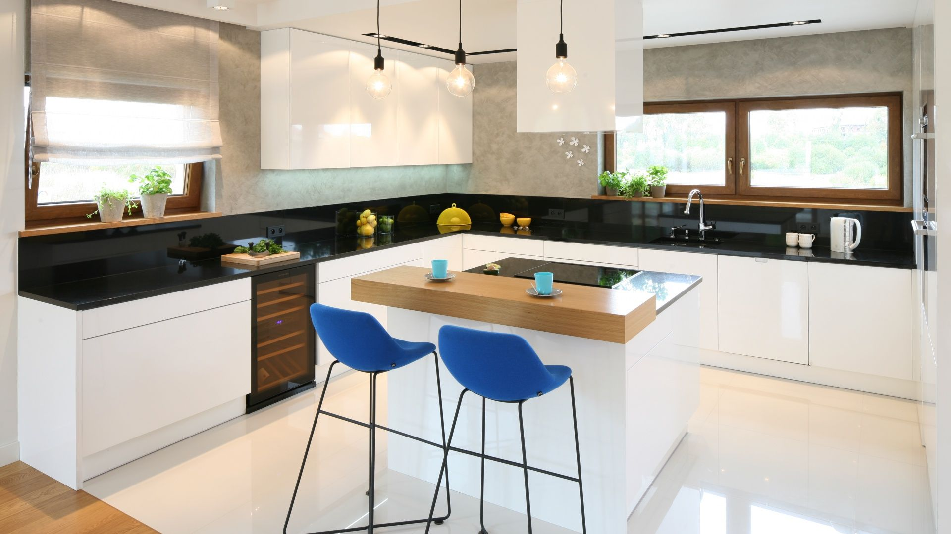 Wyspa W Kuchni Szukaj W Google Kitchen Inspirations Home Decor House Design