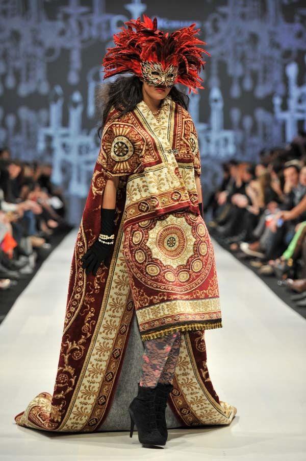 Mongolian Beauty F/W 2012 Runway- Toronto Fashion Week