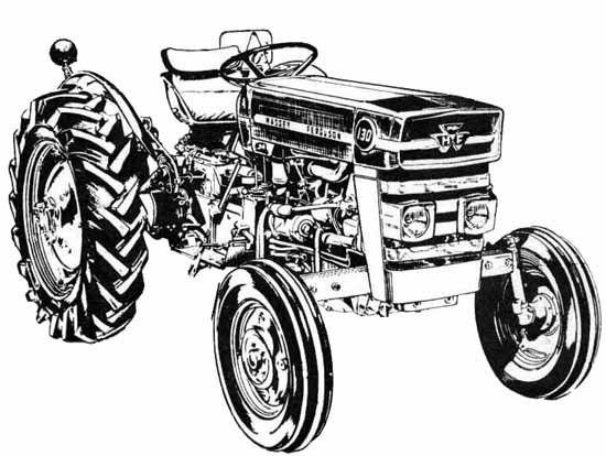 mf 135 tractor ledningsdiagram
