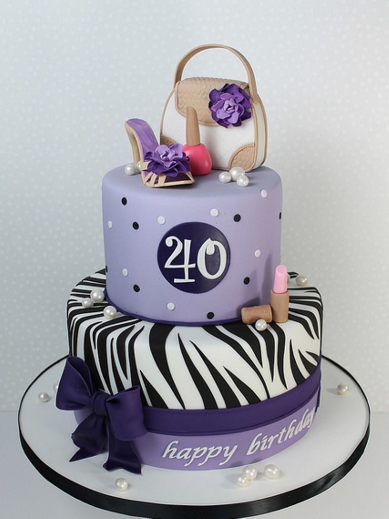 Image result for 40th birthday cakes female 40th cakes for 40th birthday cake decoration