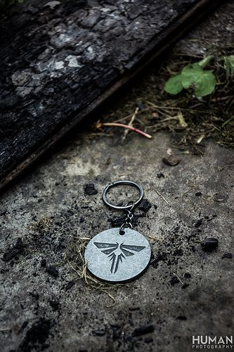 The last of us firefly keychain pendant fireflies and photos the last of us firefly keychain pendant flickr photo sharing aloadofball Image collections