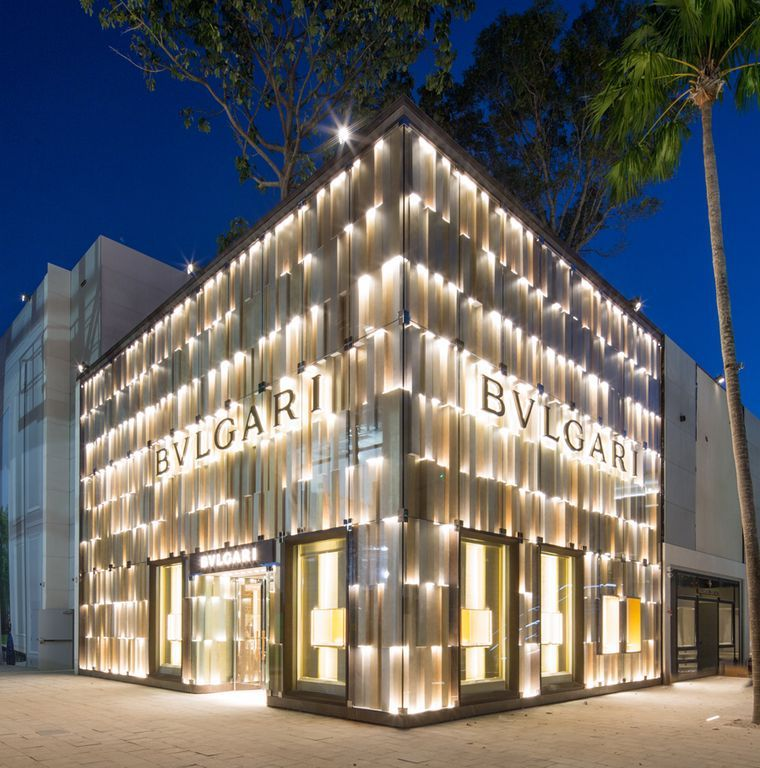 Bulgari Flagship Store, Miami Design District, Miami, Florida, United States