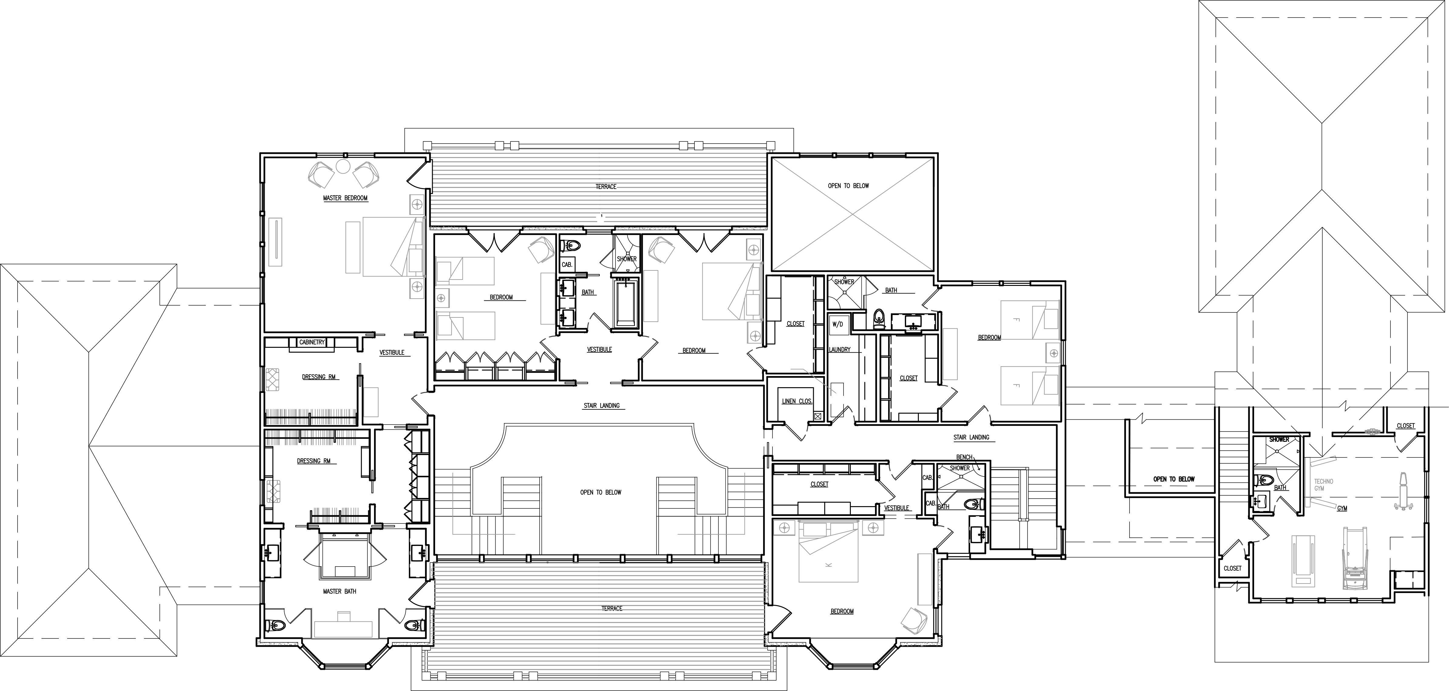 Hsj Archiecture Luxury House Plans Floor Plans House Plans