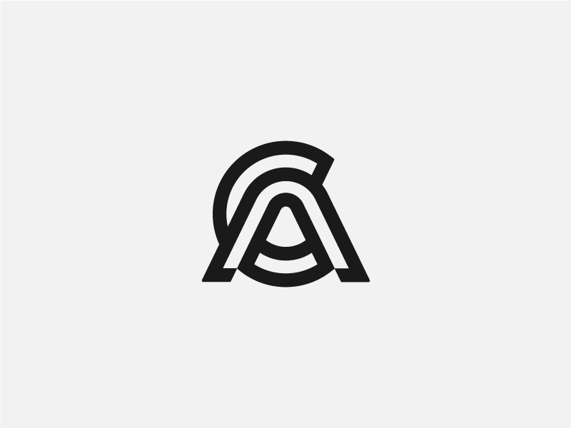 Monogram Typography Logo Fonts Text Logo Design Branding Design Logo