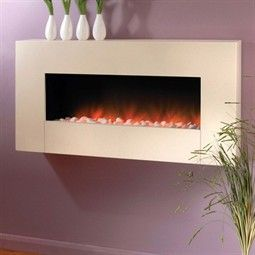 Flamerite Fires Sento Wall Mounted Electric Fireplace Suite  Wall Electric Fireplace