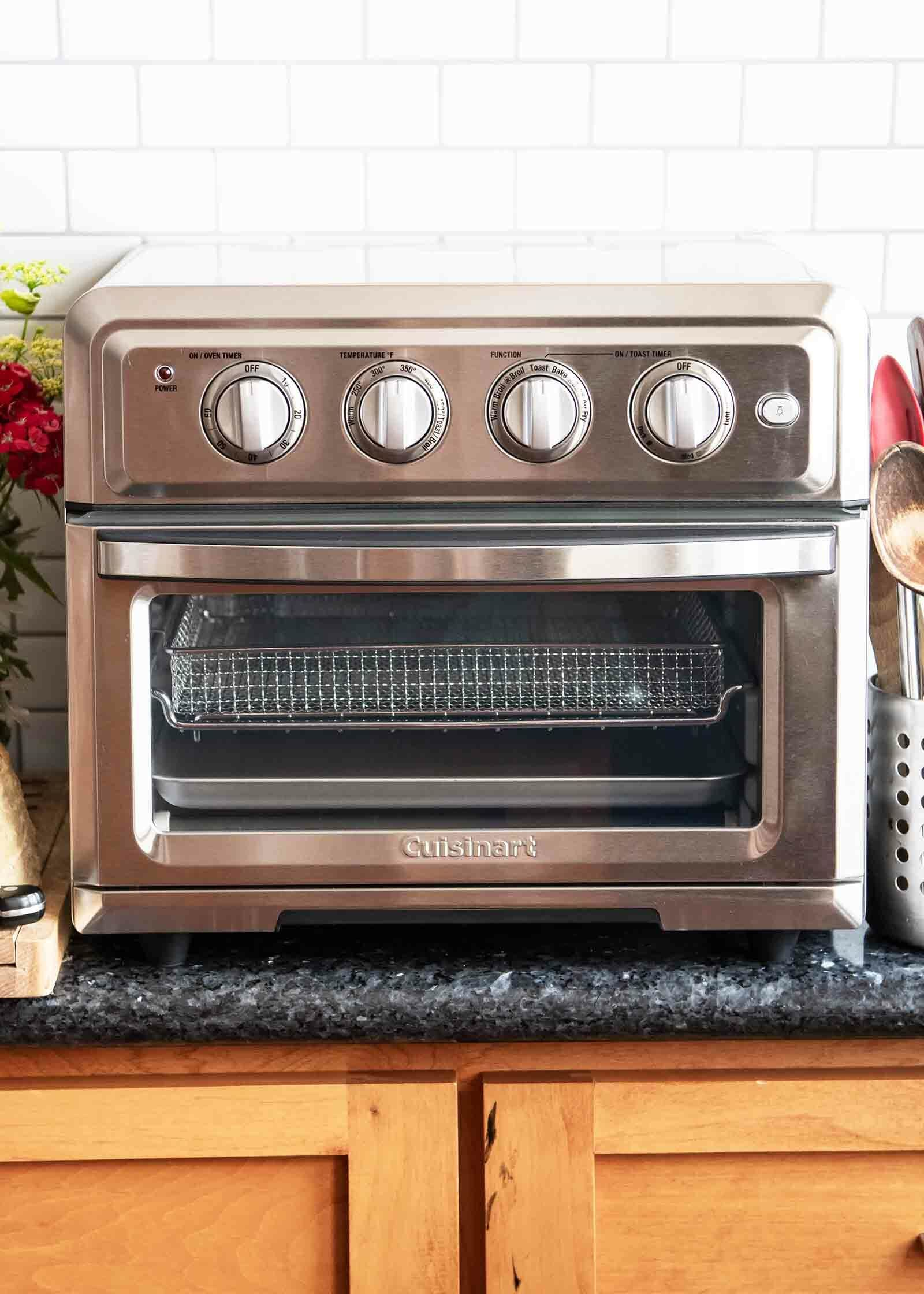 Say Hello To The New Air Fryer Toaster Oven From Cuisinart Simplyrecipes Com Toaster Oven Recipes Toaster Oven Oven Recipes