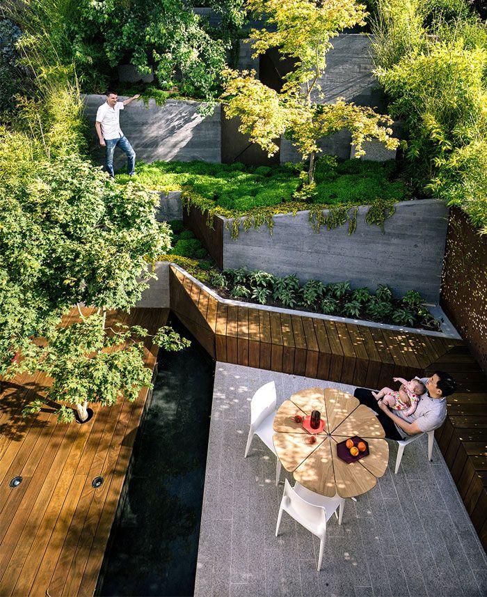 55 Small Urban Garden Design Ideas And Pictures: Hilgard Garden – An Extended Outdoor Living Space