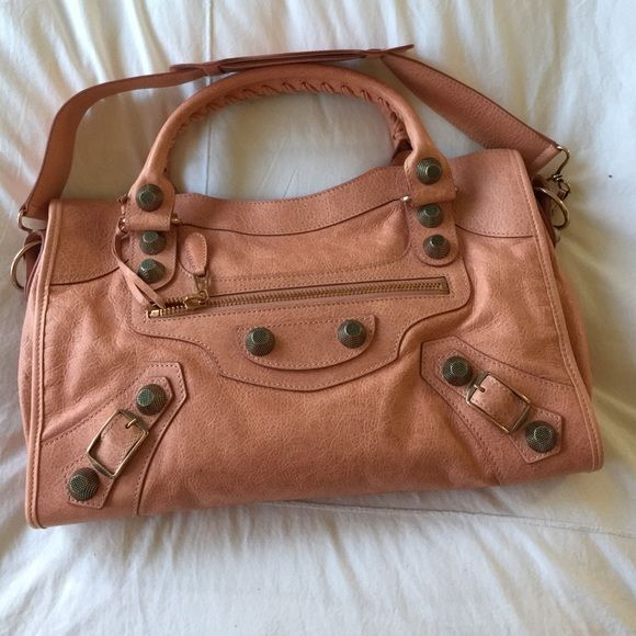 74c9d9c01f Balenciaga Vieux Rose Giant City (brand New) Balenciaga giant city in vieux  rose color with rose gold hardware. Brand new with receipt from Neiman  Marcus.