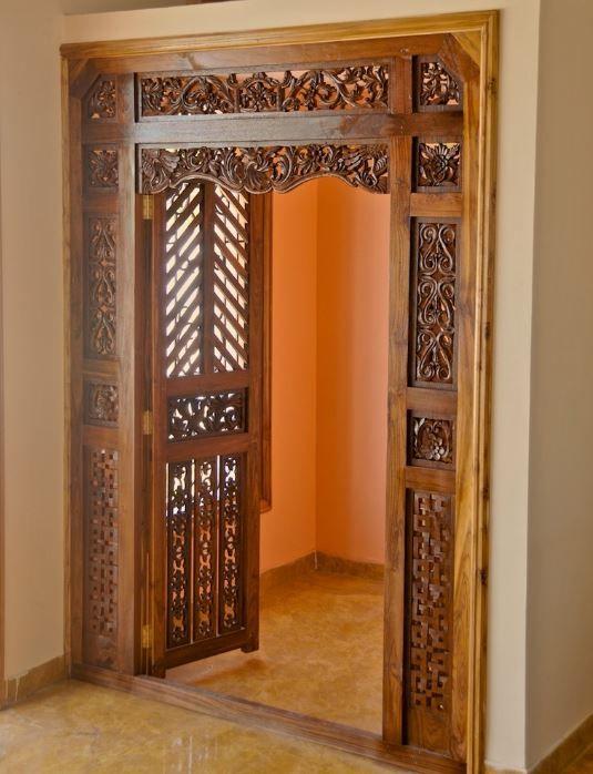Pooja Room Door Design Room Door: Pooja Room Ideas In Small House