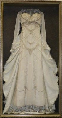 How to Display Your Wedding Gown - Church Hill Classics | Wedding ...