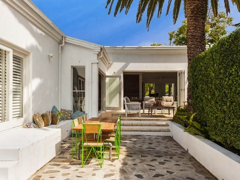 The Essence Of A Palm Beach House Beautiful Beach Houses Bungalow Exterior Beach Houses For Sale