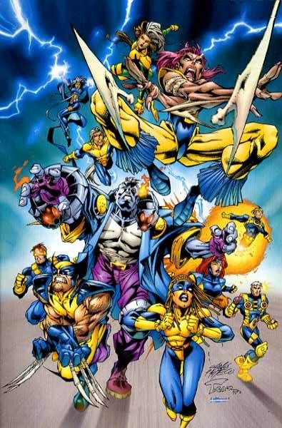 The Unpublished X Men Operation Zero Tolerance X Men Marvel Comics Marvel