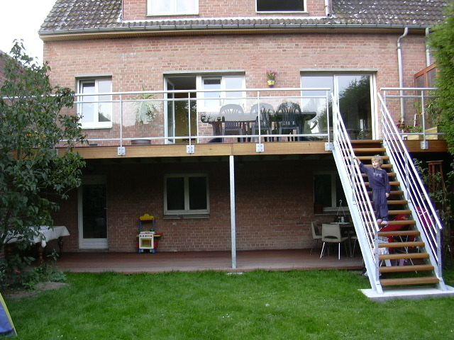 terrasse suspendue en metal belgique terrasse Pinterest Beams