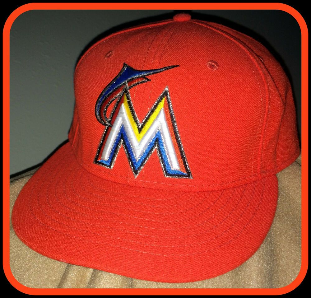 MIAMI MARLINS NEW ERA 59FIFTY ADULT FITTED CAP SIZE 7 1 4 NEW WITH TAG FREE  SHIP  NewEra  FloridaMarlins 0a7903830dd2