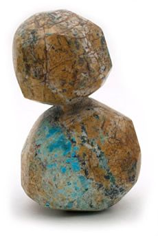 my favorite stones are those with a matrix; here turquoise