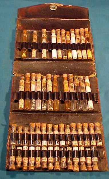 This Medicine Case Was Described As A Civil War Doctor S Medical Kit The Snap Closure Which