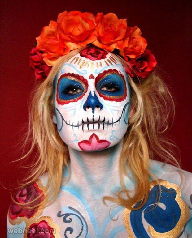 halloween face paint ideas - Easy Face Painting Halloween