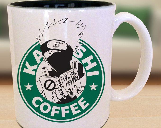 de00845eaff8 Ghoulish Anime Character Starbucks ken kaneki Parody Mug