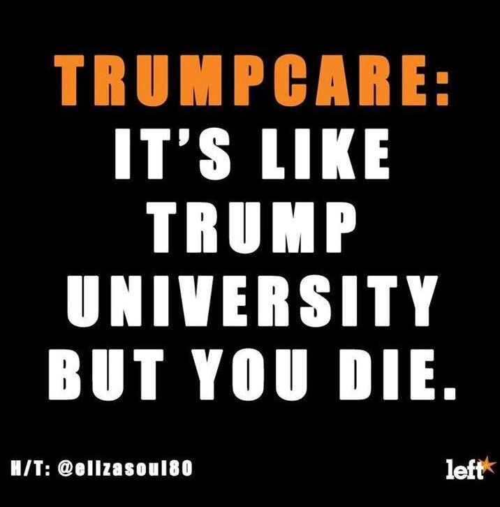 Image result for no trumpcare