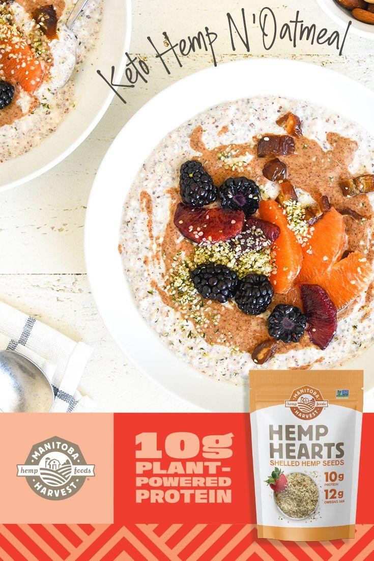 Bring on breakfast! Meal prep a batch of our Hemp N