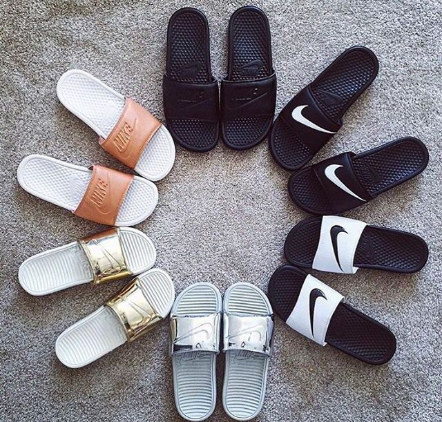 best service 1c555 8f597 Nike slippers   Sneaker style   Nike sandals, Nike shoes ...