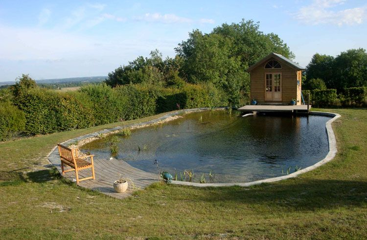Natural Swimming Pool Design With Good Ideas About Swimming Pool Pond On  Plans