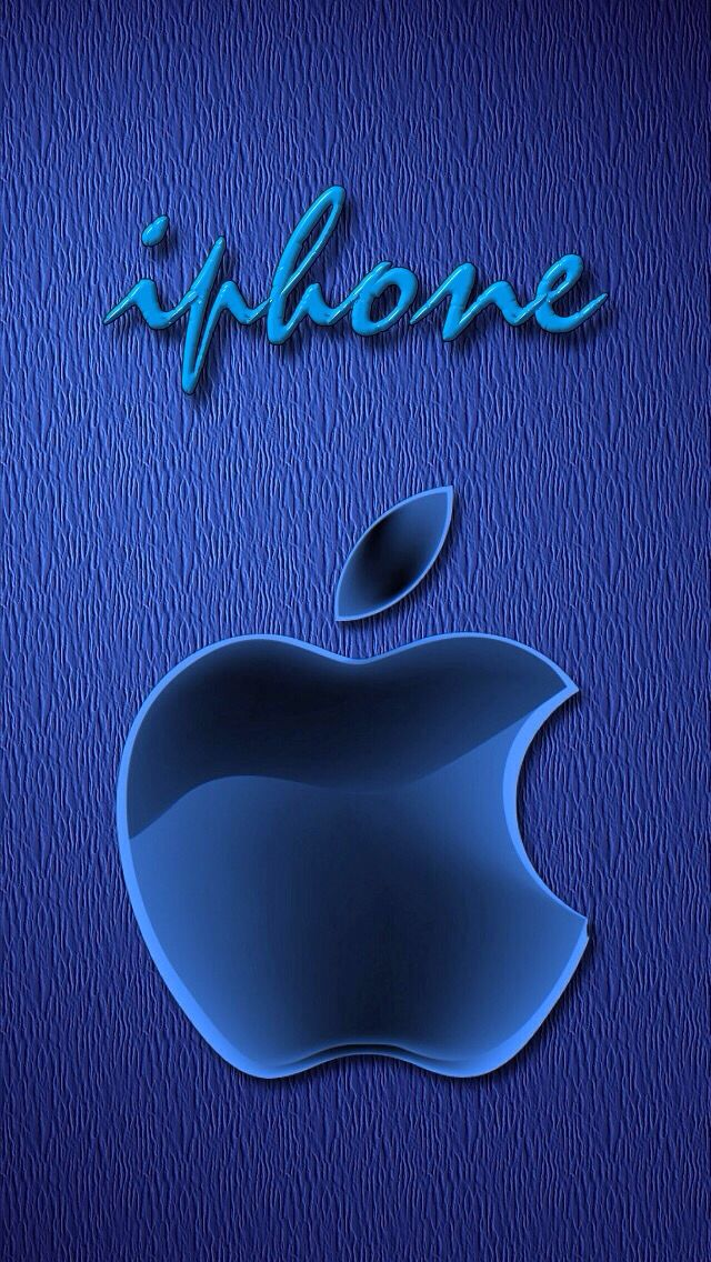 Blue Apple Logo Iphone Wallpaper Www Kefirapp Com Appstore
