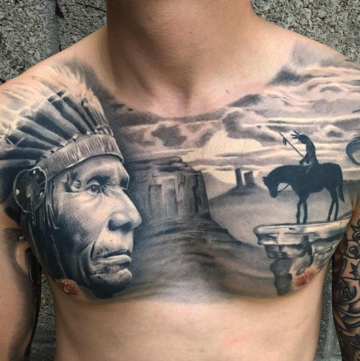 Native Indian Cover Up Tattoo By Seb Limited Availability At Redemption Tattoo Studio