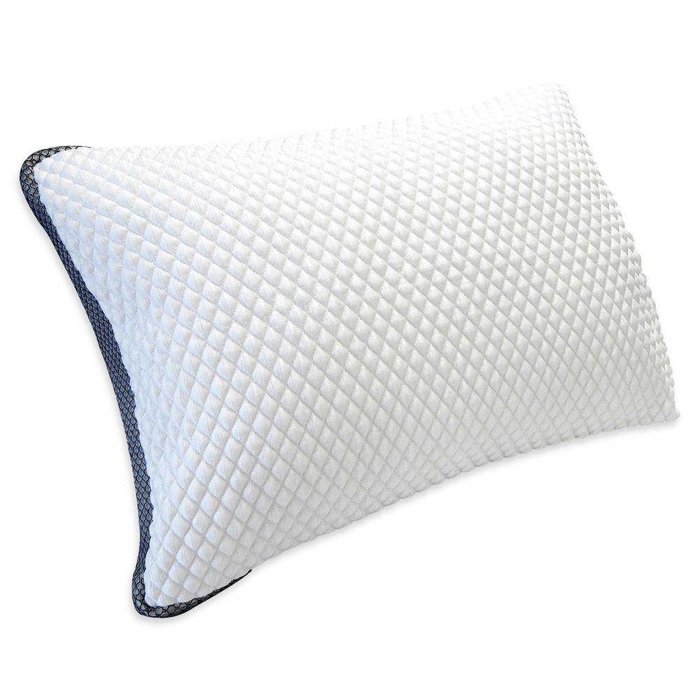 Therapedic Trucool Diamond Luxury Memory Foam Side Sleeper Pillow