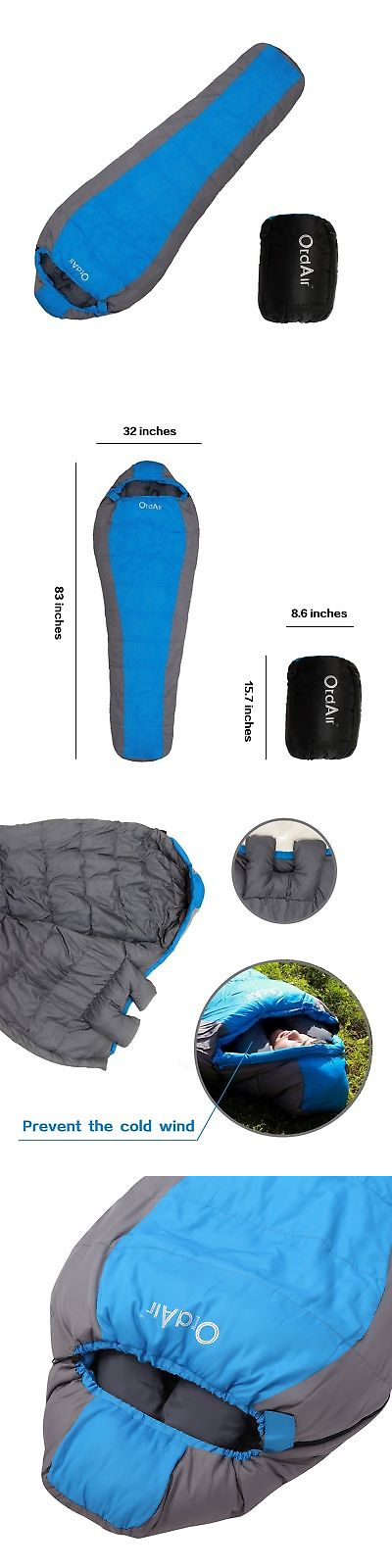 Sleeping Bags 87100: Otdair Sleeping Bag With Waterproof Lightweight Protable Mummy Sleeping Bag F... -> BUY IT NOW ONLY: $35.98 on eBay!